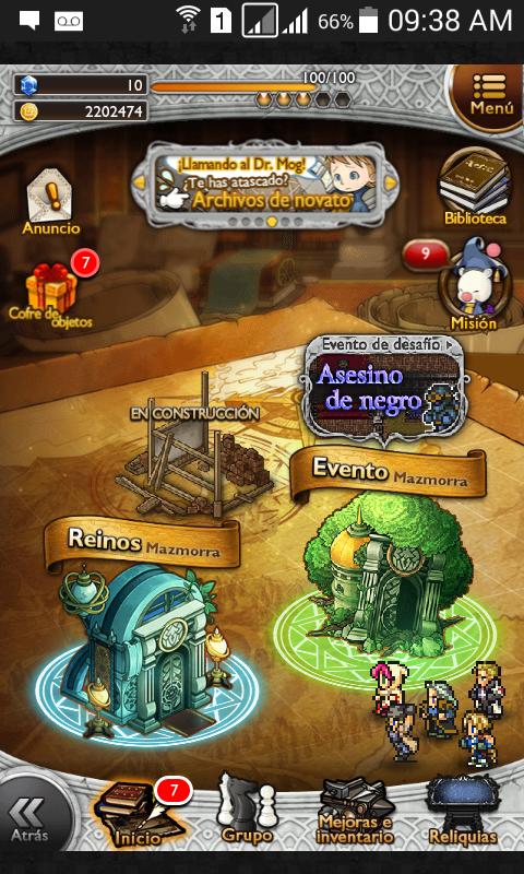 Consejos Final Fantasy parte II con actualización14/12/2015